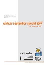 Aachen September Special 2007 - Cafe Extrablatt