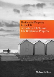 Residential Property in the UK A Guide to UK Tax on UK Residential ...