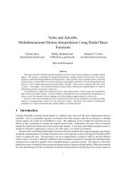 Verbs and Adverbs: Multidimensional Motion Interpolation Using ...