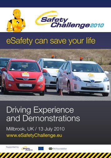 Demonstration catalogue - eSafety Challenge
