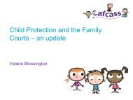 Child protection & the family courts