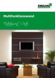 Multifunktionswand - emsland-paneele