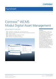 Contrexx WCMS Modul Digital Asset Management