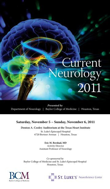View Brochure (NOTE: Reduced Registration Fees) - CME Activities