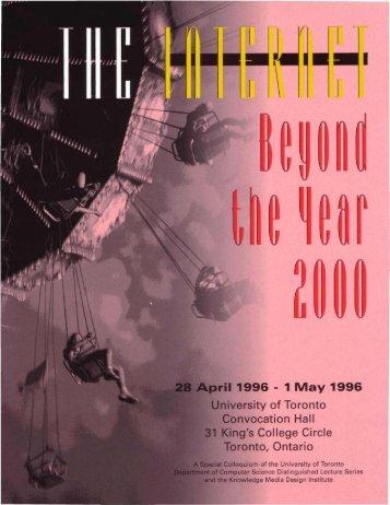 (1 1996 - 1 May 1996 - KMDI - University of Toronto