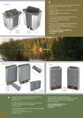 Sähkökiukaat - SAWO Finnish Sauna Manufacturer - Page 6