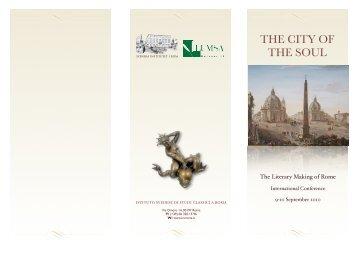 program - Svenska Institutet i Rom