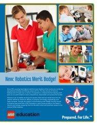 New: Robotics Merit Badge! - LEGO Education