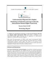 Undocumented Migrants Have Rights! - La Strada International