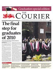 Graduation Special(Issue 1212) - The Courier