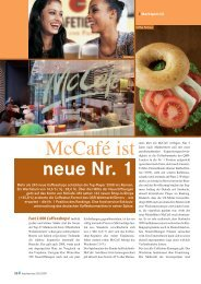 McCafé ist neue Nr. 1 - Cafe Future.net