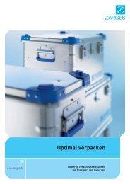 ZARGES-Box - GS Gitterrost + Bauteile AG
