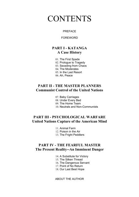 G  Edward Griffin - The Fearful Master - PDF Archive