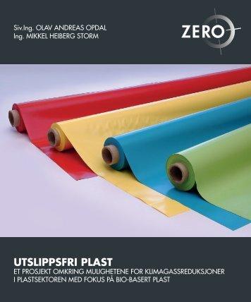 UTSLIPPSFRI PLAST - Zero