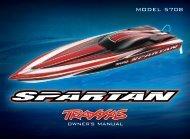 owner's manual - Traxxas