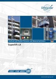 Superlift LX - Albert Böcker GmbH & Co. KG
