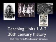 20th Century History_NFrigo - HTAV