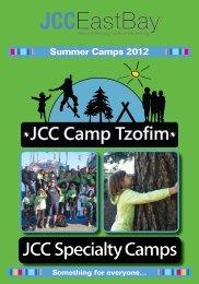 JCC East Bay Summer Camps 2012 - Montclair Elementary School