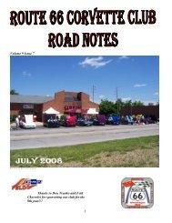Volume 9 Issue 7 - Route 66 Corvette Club