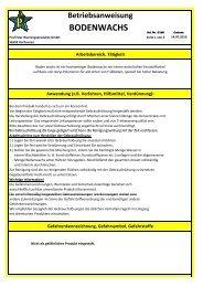 Bodenwachs BA.xlsx - Profi-Star Wartungsprodukte GmbH