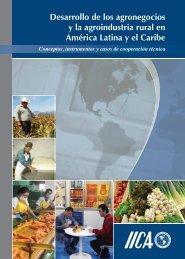 Desarrollo de los agronegocios y la agroindustria rural en América ...