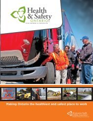 IHSA Brochure - Infrastructure Health & Safety Association
