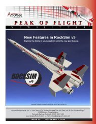 New Features in RockSim v9 - Apogee Components