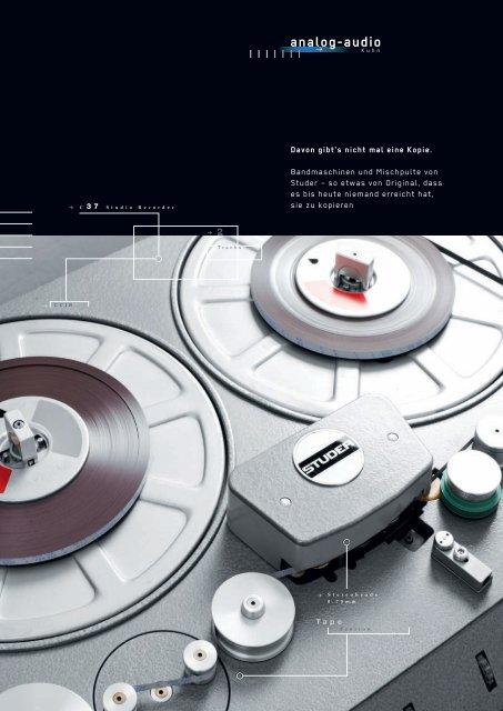 analog-audio - Revoxsammler