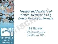 Testing and Analysis of Internal Hardwood Log Defect Prediction ...