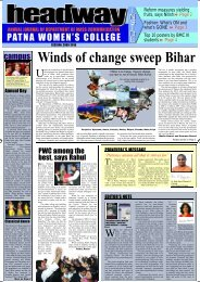 campus Winds of change sweep Bihar - Patna Womens College