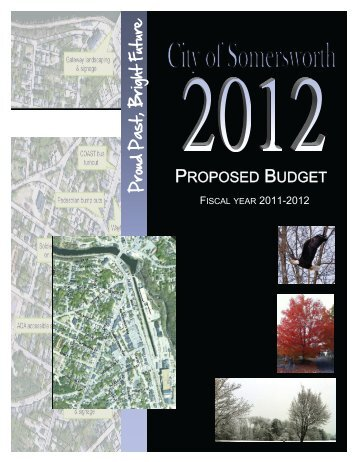 Fiscal Year 2011-2012 Proposed Budget - City of Somersworth ...