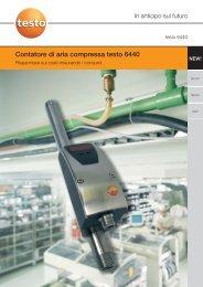 Ulteriori caratteristiche del contatore di aria compressa - Logismarket