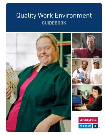 Quality Work Environment Guidebook - AbilityOne