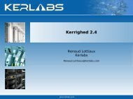 Kerrighed 2.4 - (RMLL) 2009