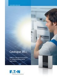 Photovoltaic Catalogue 2010 - Moeller