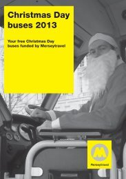 Christmas Day bus timetables - Merseytravel