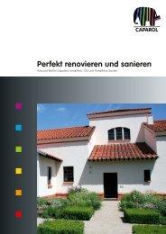 Perfekt renovieren und sanieren - Caparol