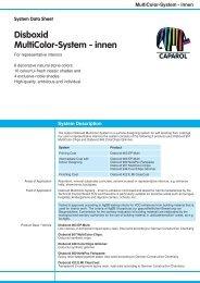 Disboxid MultiColor-System - innen - Caparol