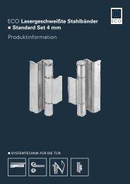 Produktinformation - ECO-Schulte