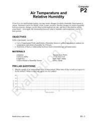 Air Temperature and Relative Humidity - Vernier Software ...