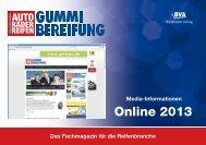 Mediadaten 2013 online - Gummibereifung