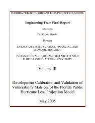 Development Calibration and Validation of Vulnerability Matrices of ...