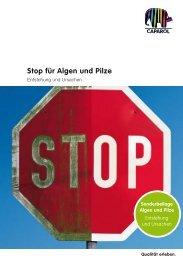 Stop für Algen und Pilze - Caparol