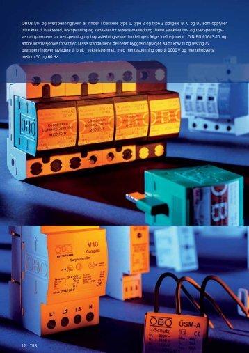 og overspenningsvernsystemer - OBO Bettermann