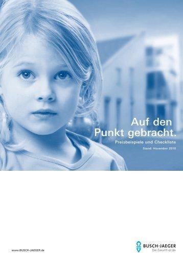 Lichtschalter Steckdosen Preisbeispiele von Busch ... - directbau24