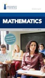 MATHEMATICS - Jones & Bartlett Learning