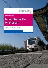 Halfjaarcijfers_OV_2011 - Provincie Fryslân