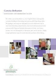 herunterladen (.pdf) - Diakoniewerk Bethanien