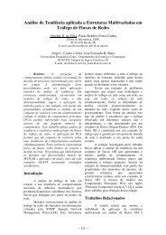 Métodos Estocásticos e EstatísticosOral Análise de ... - sbmac