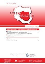 Polen-Litauen - Laender-Analysen